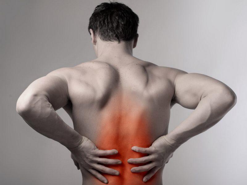 Dolor en la zona media de espalda