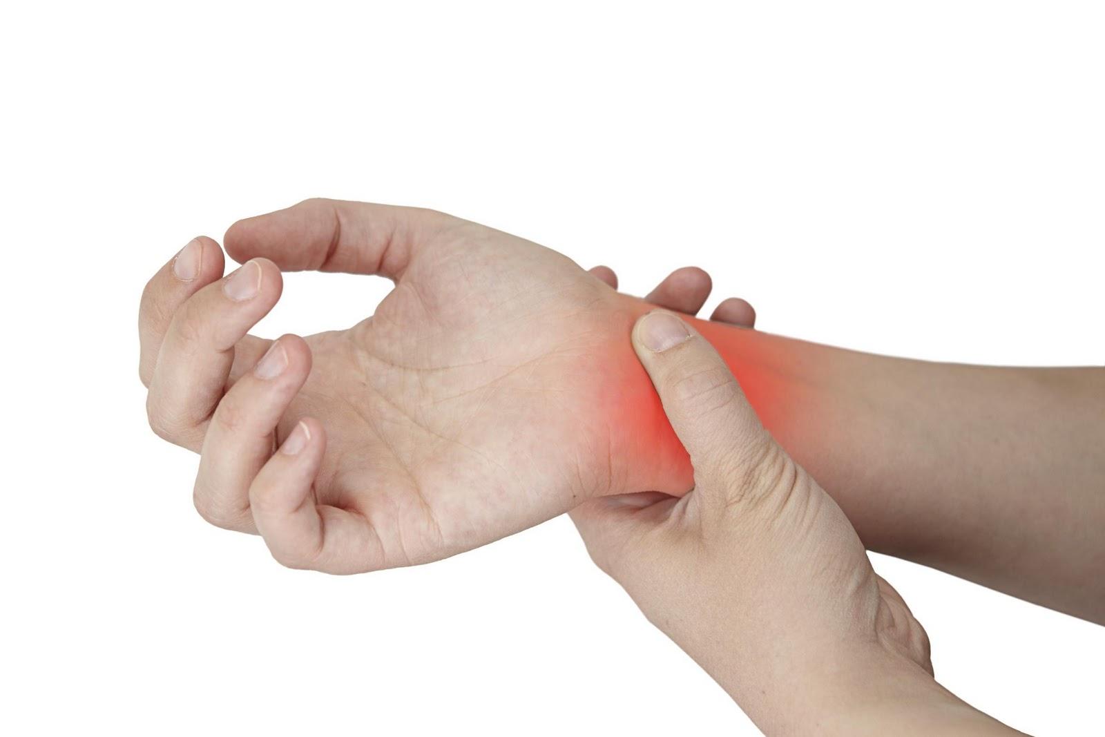 tendinitis de manos o muñeca